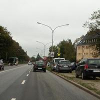 VW T5 Messbus HL-HL 254 blitzt in Rtg. Bad Schwartau...