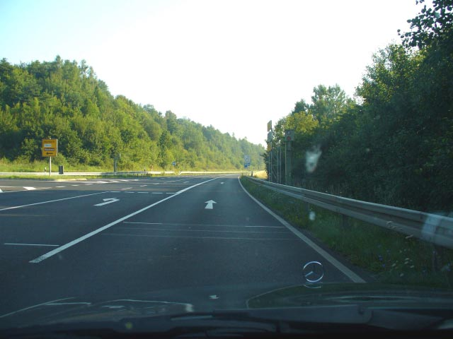 Verkehrslage B27