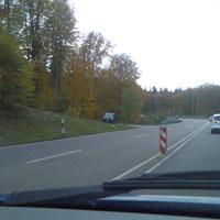 Ansicht aus der Gegenrichtung. (Fahrtrichtung Heilbronn)