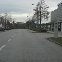 Radarkasten Siemens SITRAFFIC LYNX speed ERS400, Fahrtrichtung stadtauswärts, drehbar