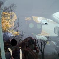 Nahansicht. Ich selbst habe diese Kamera erst gesehen, als ich direkt vor dem Messfahrzeug stand. Als Autofahrer bestand so gut wie keine Erkennungschance. Lediglich die Leivtec für die Gegenrichtung konnte man sehen. Besten Dank an die netten Messbeamten!