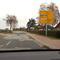 """Aus dem Kreisverkehr die 2. Abfahrt führt zur """"Gefahrenstelle""""..."""