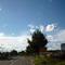Anfahrtsansicht am Ortseigang von Schwanstetten. Man hat bereits eine längere Fahrt von Allersberg hierher hinter sich. Der ein oder andere Fahrer hat dann womöglich keine Nerven sich hier an die vorgeschriebenen 50km/h zu halten.