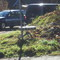 Der Meßbus war hinter dem Hügel geparkt.