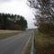 Die Strecke ist recht übersichtlich und ohne Gegenverkehr sind Geschwindigkeiten bis ca. 90 km/h gefahrlos drin.