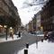 Anfahrtsansicht am Beginn der Gostenhofer Hauptstraße von der Knauerstraße her kommend auf Höhe der Kreuzung Bauerngasse. Hier wechselt die Beschilderung von einer 30er auf eine 10er Zone.