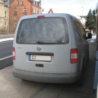 Nahansicht des Messfahrzeugs - Danke an den Messbeamten für Fotoerlaubnis und das nette Gespräch :)