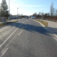 Ansicht Rtg. Wismarsche Straße.
