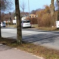 Neumünster-Einfeld, stadtauswärts, kurz vor dem Großharrier Weg