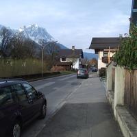 Man rechnet mit einer Heckmessung. Anfahrt aus Richtung der Burgstraße.