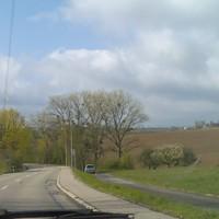 Ansicht aus Richtung Durlach (Gegenrichtung)