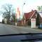 """Übersicht der """"Gefahrenstelle"""" in der Geninerstrasse stadtauswärts. Der silberne ESO-VW-T5-Messbus HL-HL 254 steht in der Gasometereinfahrt..."""