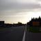 Anfahrtsansicht in Höhe der Ausfahrt Müncherlbach in Fahrtrichtung Ansbach. Es folgt eine wirklich lange Gerade...