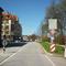 Anfahrtsansicht am Ende des Norisrings in Fahrtrichtung Bayernstraße. Hier beginnt auch das 30er Streckenlimit.