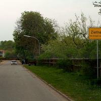 Ortseingang von Gadebusch kommend...