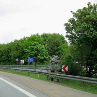Parkplatz Dillenburg reduzierte Geschwindigkeit wegen der Baustelle...