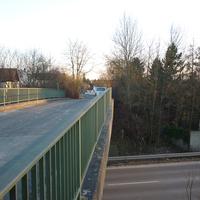 Das Messfahrzeug steht am Ende der Gaisbühlstraße.
