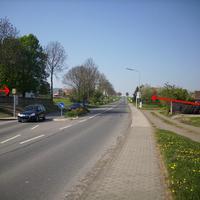 In Fahrtrichtung nach Wolfhagen