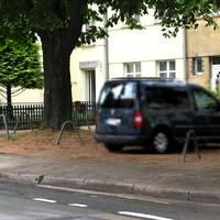 Messung in Baustelle, 30 km/h