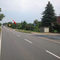 Überblick über die Geschwindigkeitsmessanlage in Alt Schwerin