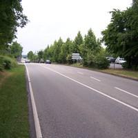 Anfahrtsansicht Fahrtrichtung Pforzheim