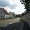 Ortsdurchfahrt von Mistelbach an der Strecke zwischen Bayreuth und Mistelgau.