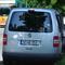 Hier wird im Auftrag der Stadt Oberammergau überwacht mit einem Leihfahrzeug.