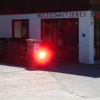 Eine blitzende 5.0 Danke an den wie immer sehr netten Meßtechniker der Zweckverbandes Kommunale Verkehrssicherheit Oberland in Bad Tölz.