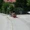 Zusätzlich steht immer,wenn möglich die 4.1 zum Hinterherblitzen der Motorradfahrer in Richtung Urfeld.
