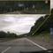 Anfahrt: Nach längerer Raserstrecke hier der erste Geschwindigkeitsbegrenzungshinweis auf 100 km/h!