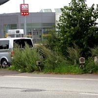 """Der """"Tatort"""" mit dem """"Blitzgeschirr"""" und dem VW-ESO-Messbus..."""