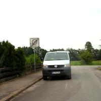 Der VW ESO Messbus des Ordnungsamt Lübeck...