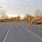 Entgegengerichtete Annäherung an die Messstelle. Dabei gilt die gesamte Anfahrt  über eine nicht aus dem Straßenbild ableitbare Limitierung auf 30 km/h.