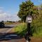 Ansicht auf die Strecke, die aus Seehof (Kreis NWM) nach Schwerin führt.