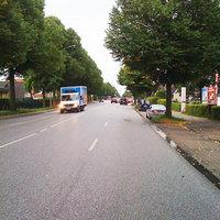 von HH-Rahlstedt(/HH-Jenfeld kommend in Richtung HH-Billstedt