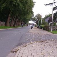"""Anfahrt von """"Am Katharinenhof"""" kommend in der 30-Zone"""