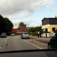 Der silberne Opel-Zafira immer noch mit dem Kennzeichen RZ - 627 zur Tarnung...