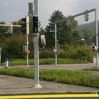 Aufnahme Kreuzungsbereich Winterthurstr./Bülachstr.
