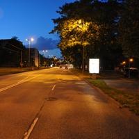 Übersicht am Abend, diesmal Messung mit der ES1.0 der Rostocker Polizei.