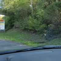 Von Kassel kommend - Richtung Vellmar! Hier gilt 50Km/h.