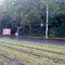 Bundesstraße 7. Aus Vellmar/Calden kommend - Richtung Kassel (stadteinwärts). Hier gilt 50Km/h.  Der Einseitensensor steht hinter der Laterne. Blitz und Kamera vor dem Blitzerwagen, der vor der Plakatwand steht. Foto wurde von der gegenüberliegenden Straßenseite gemacht.