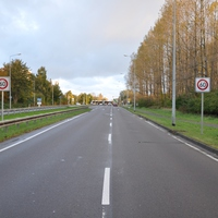 Neuer stationärer Blitzer auf der Rostocker Stadtautobahn Höhe Lichtenhagen (Ecke Güstrower Straße), blitzt in Richtung Norden (Warnemünde), alter Rotlichtblitzer wurde demontiert.
