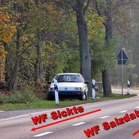Weißer Passart Variant mit Hildesheimer Kennzeichen treibt oft sein Unwesen im LK WF