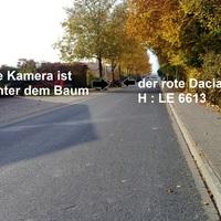 Blick in Rtg. Westen, der Dacia blitzte die in diese Rtg. Fahrenden, manchmal wird aber auch gedreht.