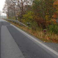 Hinter Pingelshagen Richtung Grevesmühlen, kurz nach dem Abzweig Trebbow