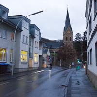 Anfahrt auf den Blitzer, wer sieht ihn? Geblitzt wurde in Richtung Bonn City, Höchstgeschwindigkeit 30 Km/h.