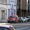 Blick auf den Messwagen, Sicht vom Gegenverkehr. Man kann gut die beiden Messpersonen erkennen. Radarwagen der Stadt Bonn Fahrtrichtung: Stadtwauswärts  Erlaubte Geschwindikeit: 30 Km/h