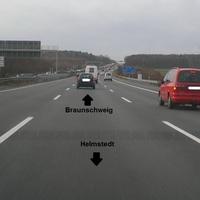 """Hier die Meßstelle Richtung Braunschweig/Peine. Die Anlage war noch nicht ganz vollständig. Mittlerweile ist die Anlage komplett und auch """"scharf"""" geschaltet."""
