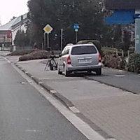 Leider nur Handy Fotos! Aber an der Bos-Funkantenne schön zu sehen das es ein Polizei Fahrzeug ist!