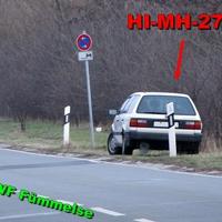 Weißer Passat zur Verwirrung mit Hildesheimer Kennzeichen im LK Wolfenbüttel unterwegs